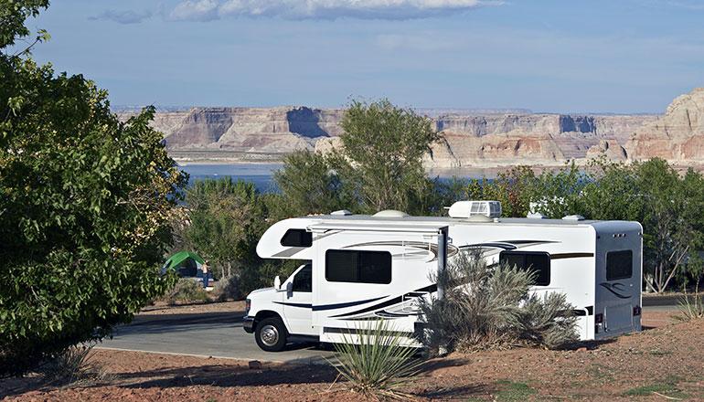 Camping vs Off Camping